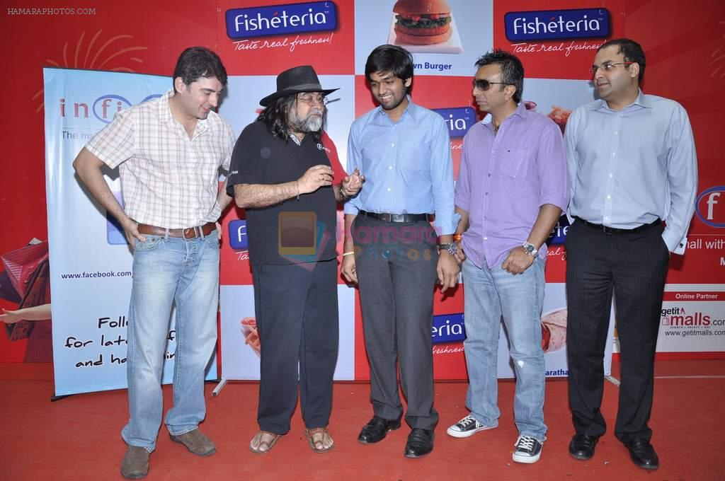 Jugal Hansraj at Fishteria launch in Malad, Mumbai on 26th Oct 2012