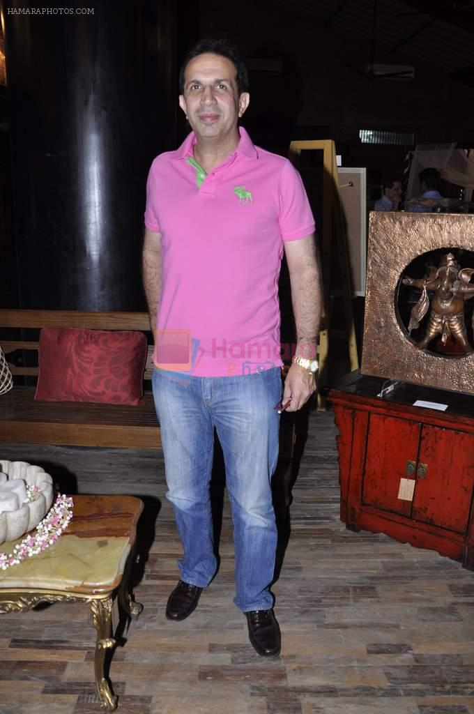Parvez Damania at Nisha Jamwal's Good Homes Art event in Mumbai on 11th Nov 2012