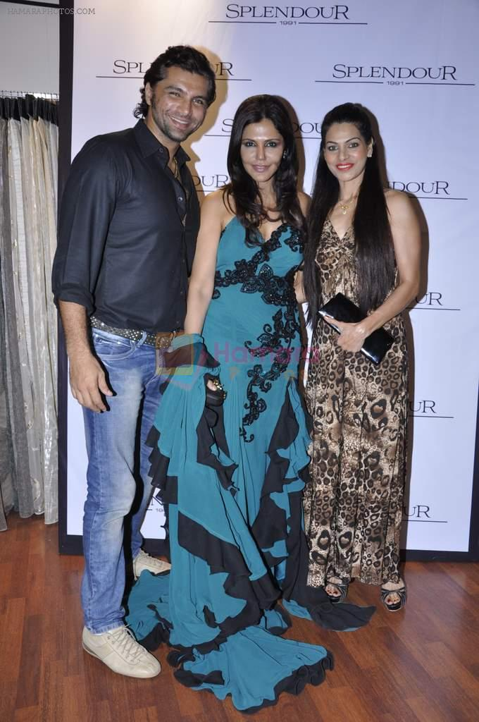 Chetan Hansraj at Splendour collection launch hosted by Nisha Jamwal in Mumbai on 27th Nov 2012