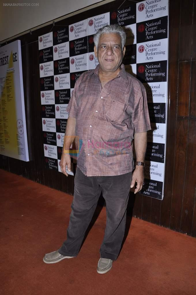 Om Puri at NCPA Centrestage festival in NCPA on 27th Nov 2012