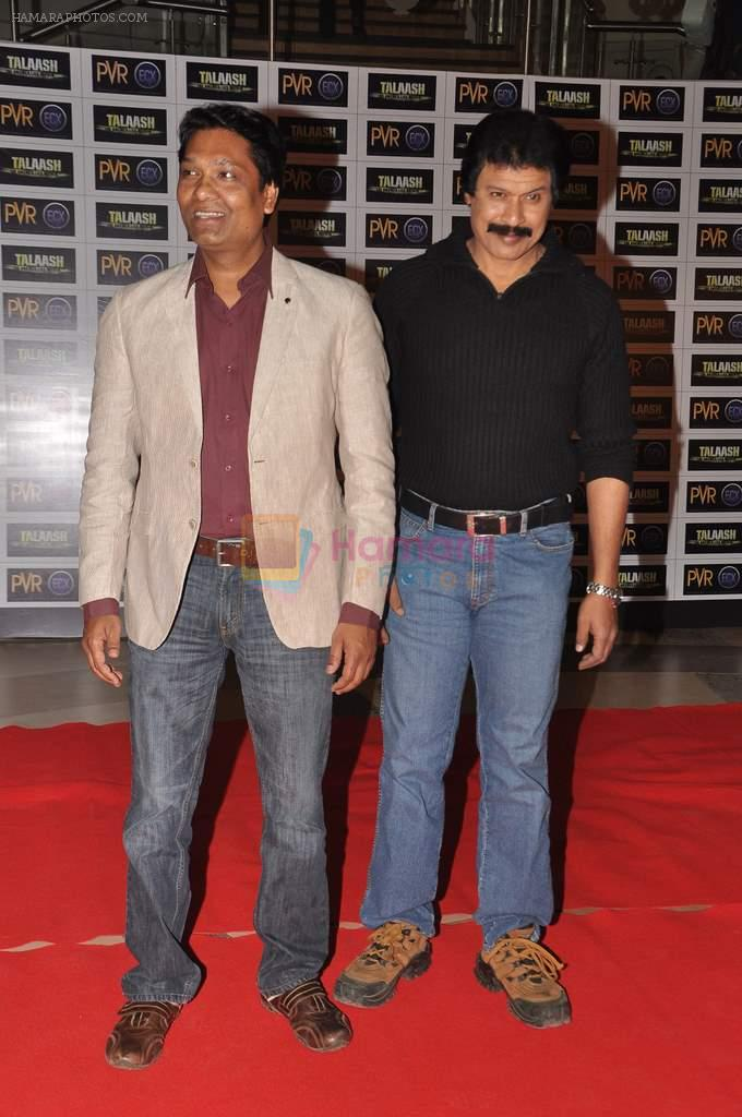 Aditya Srivastava, Dinesh Phadnis at Talaash film premiere in PVR, Kurla on 29th Nov 2012