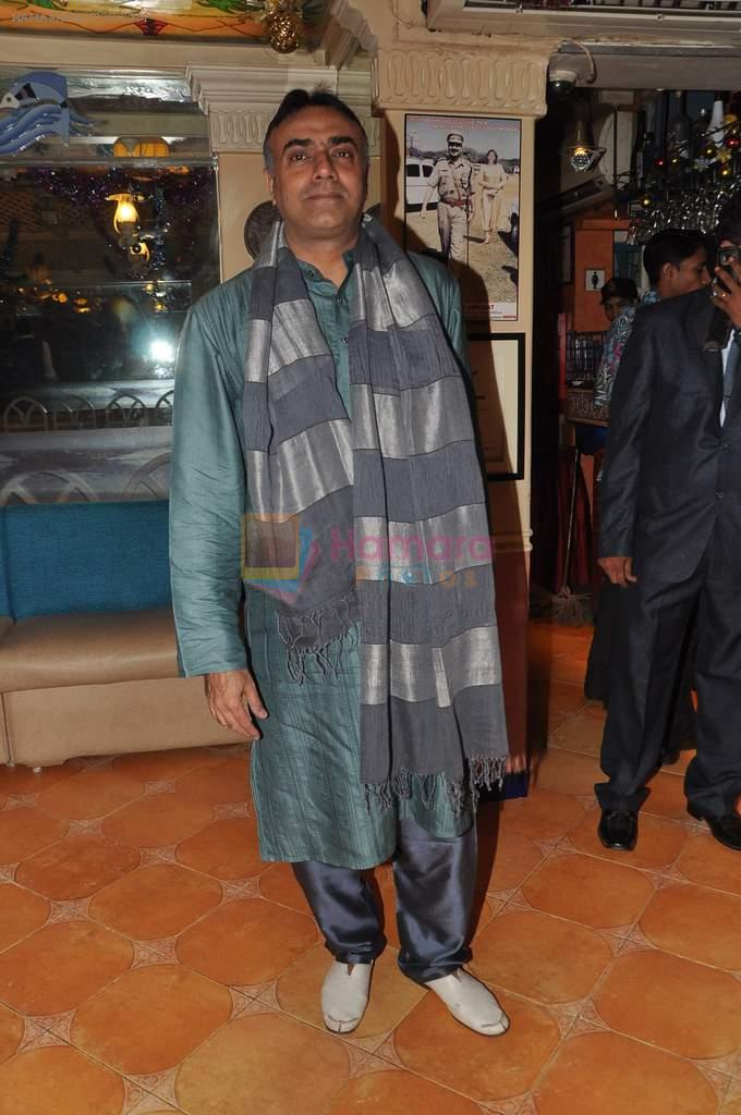 Rajit Kapur at Suhas Awchat's Goa Portuguesa celebrates 25 years in Mahim, Mumbai on 3rd Dec 2012