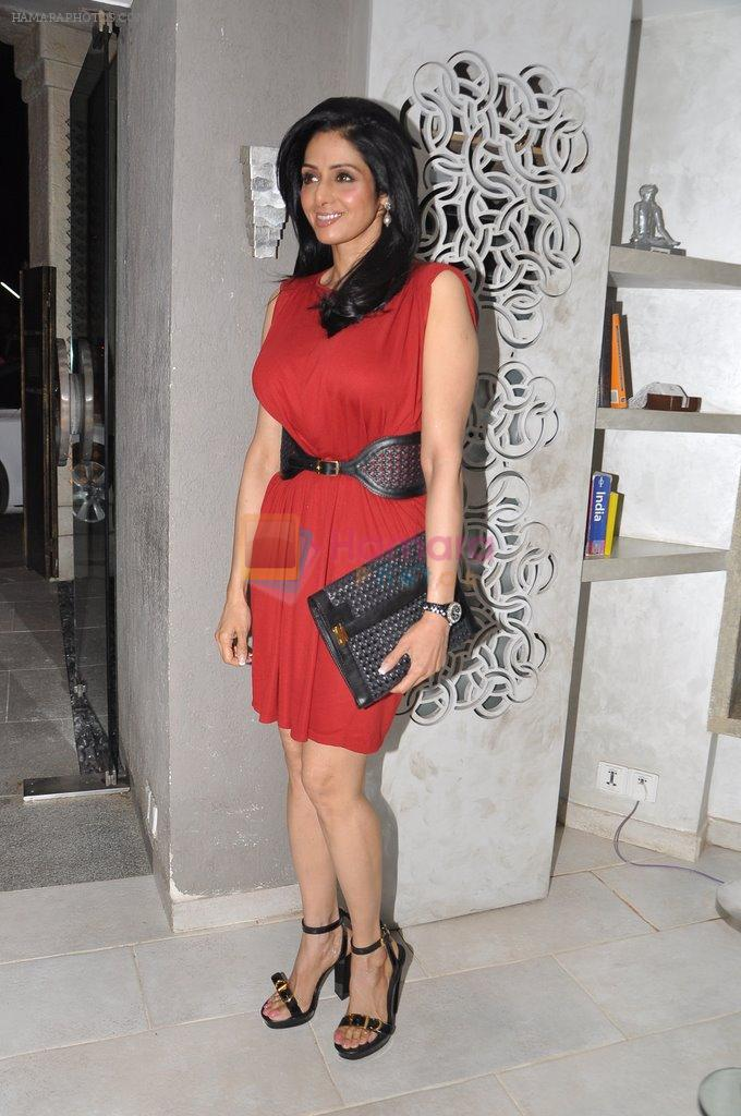 Sridevi at People's magazine cover launch in Bandra, Mumbai on 17th Dec 2012