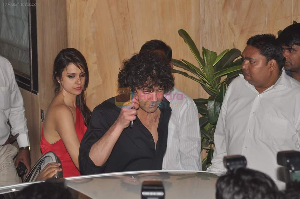 Bobby Deol at Anu and Sunny Dewan's bash in Mumbai on 24th Dec 2012,1