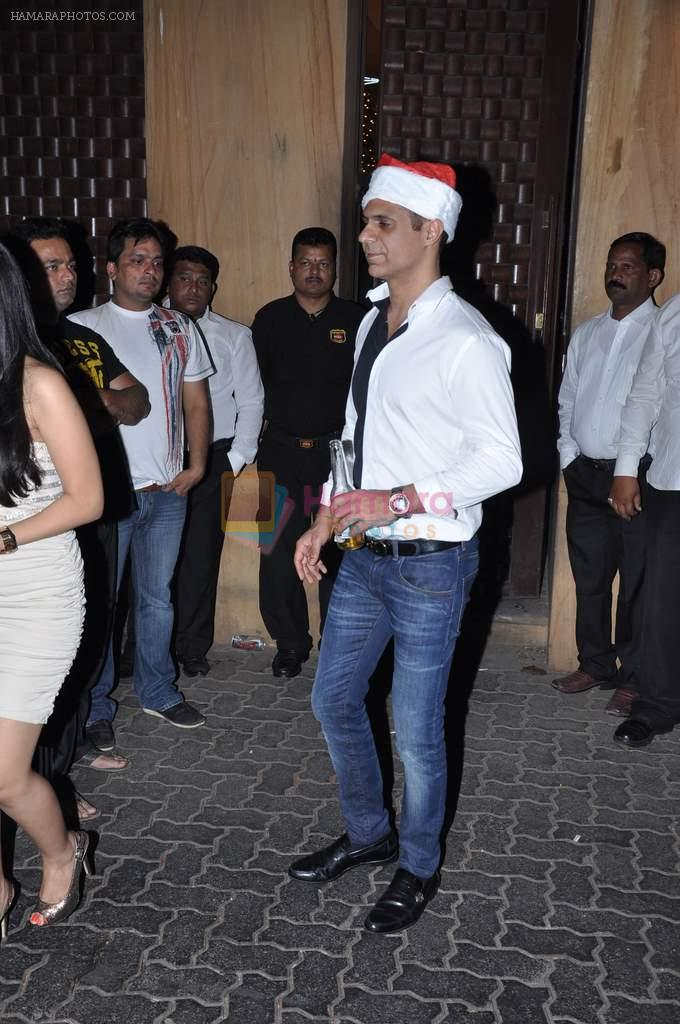at Anu and Sunny Dewan's bash in Mumbai on 24th Dec 2012