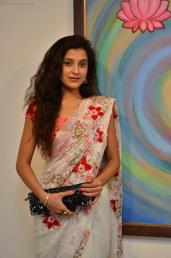 Surbhi Shukla at Bharat Tripathi's exhibition in Mumbai on 25th Dec 2012