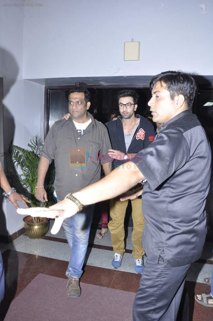 Ranbir Kapoor, Anurag Basu at Tata Memorial Hospital with cancer patients in Parel, Mumbai on 25th Dec 2012