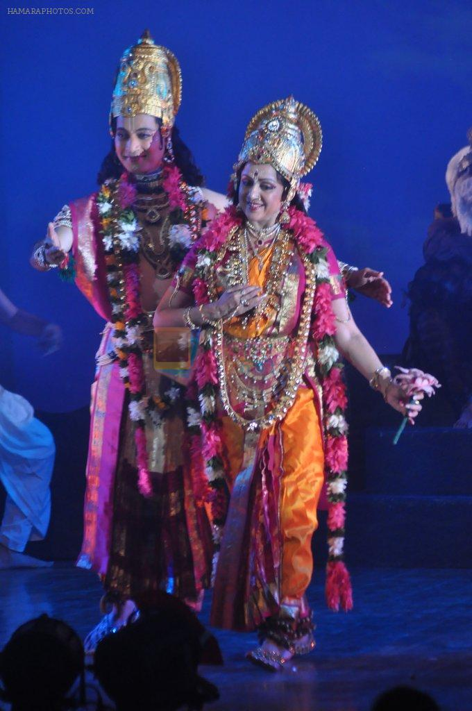 Hema Malini performs for Jaya Smriti in Nehru Centre, Mumbai on 26th Dec 2012