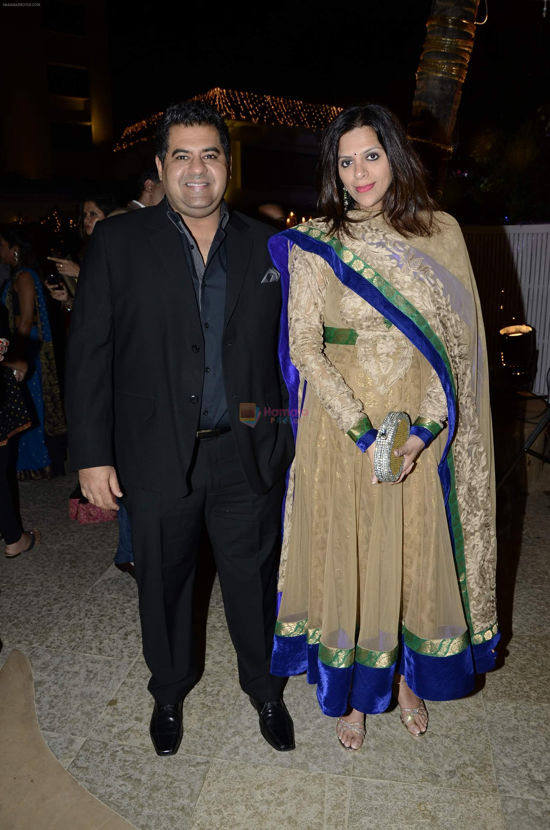 at Riyaz Amlani and Kiran's wedding reception in Mumbai on 26th Dec 2012