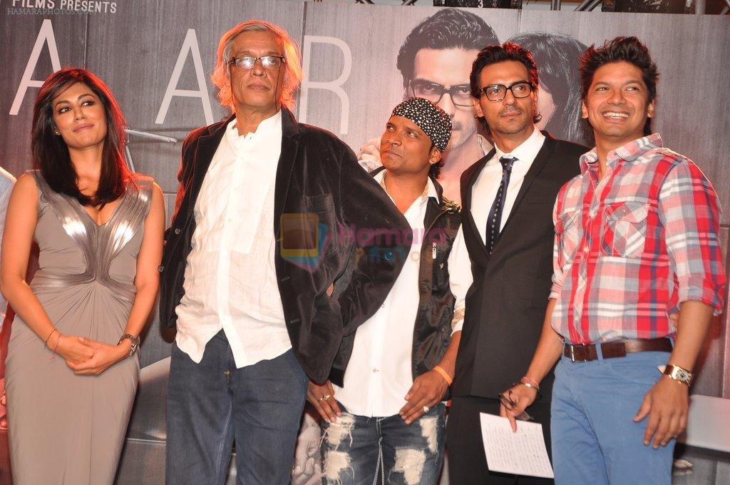 Arjun Rampal, Chitrangada Singh, Sudhir Mishra, Shaan at Inkaar calendar launch in Bandra, Mumbai on 27th Dec 2012