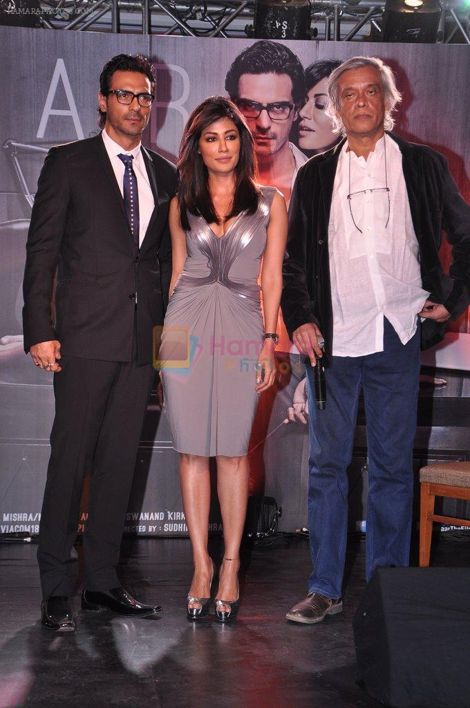 Arjun Rampal, Chitrangada Singh, Sudhir Mishra  at Inkaar calendar launch in Bandra, Mumbai on 27th Dec 2012