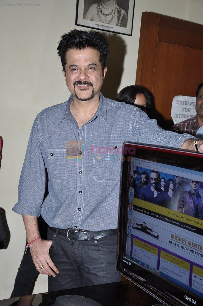 Anil Kapoor launch the website of CINTAA in Andheri, Mumbai on 27th Dec 2012