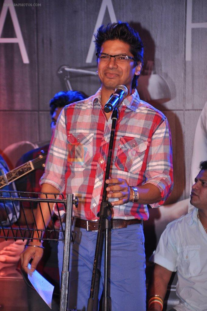 Shaan at Inkaar calendar launch in Bandra, Mumbai on 27th Dec 2012