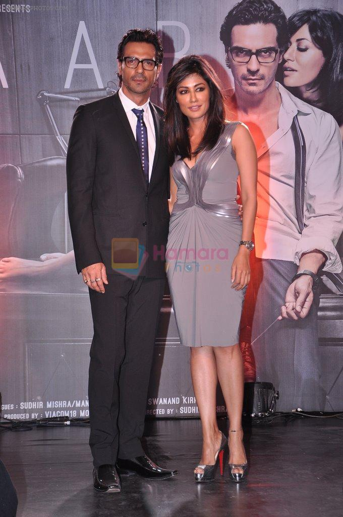 Chitrangada Singh, Arjun Rampal at Inkaar calendar launch in Bandra, Mumbai on 27th Dec 2012