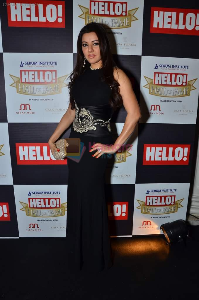 Kehkashan Patel at red carpet of Hello Hall of Fame Awards in Mumbai on 27th Dec 2012