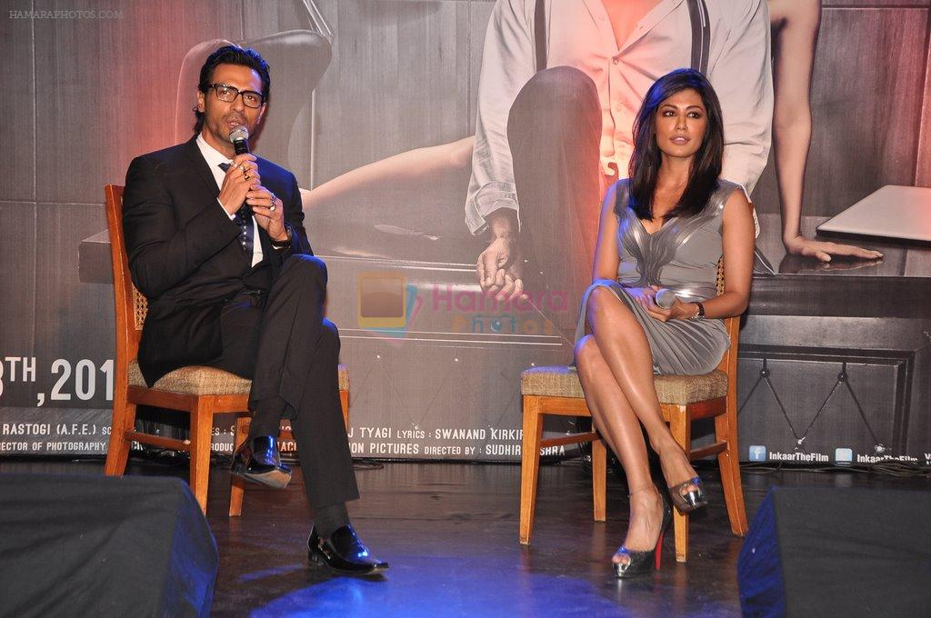 Arjun Rampal, Chitrangada Singh at Inkaar calendar launch in Bandra, Mumbai on 27th Dec 2012