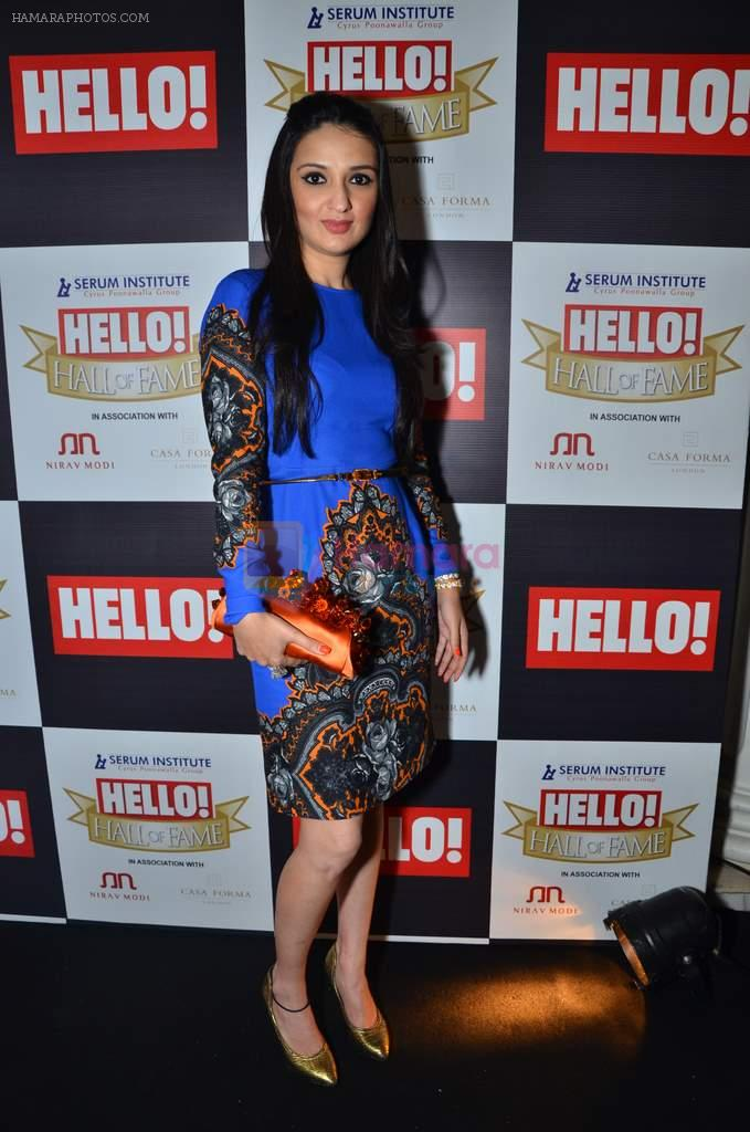Anu Dewan at red carpet of Hello Hall of Fame Awards in Mumbai on 27th Dec 2012