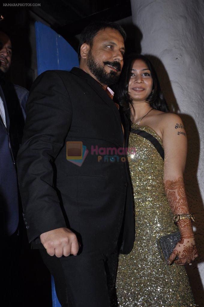 Bunty Walia at Bunty Walia's wedding reception bash in Olive on 28th Dec 2012