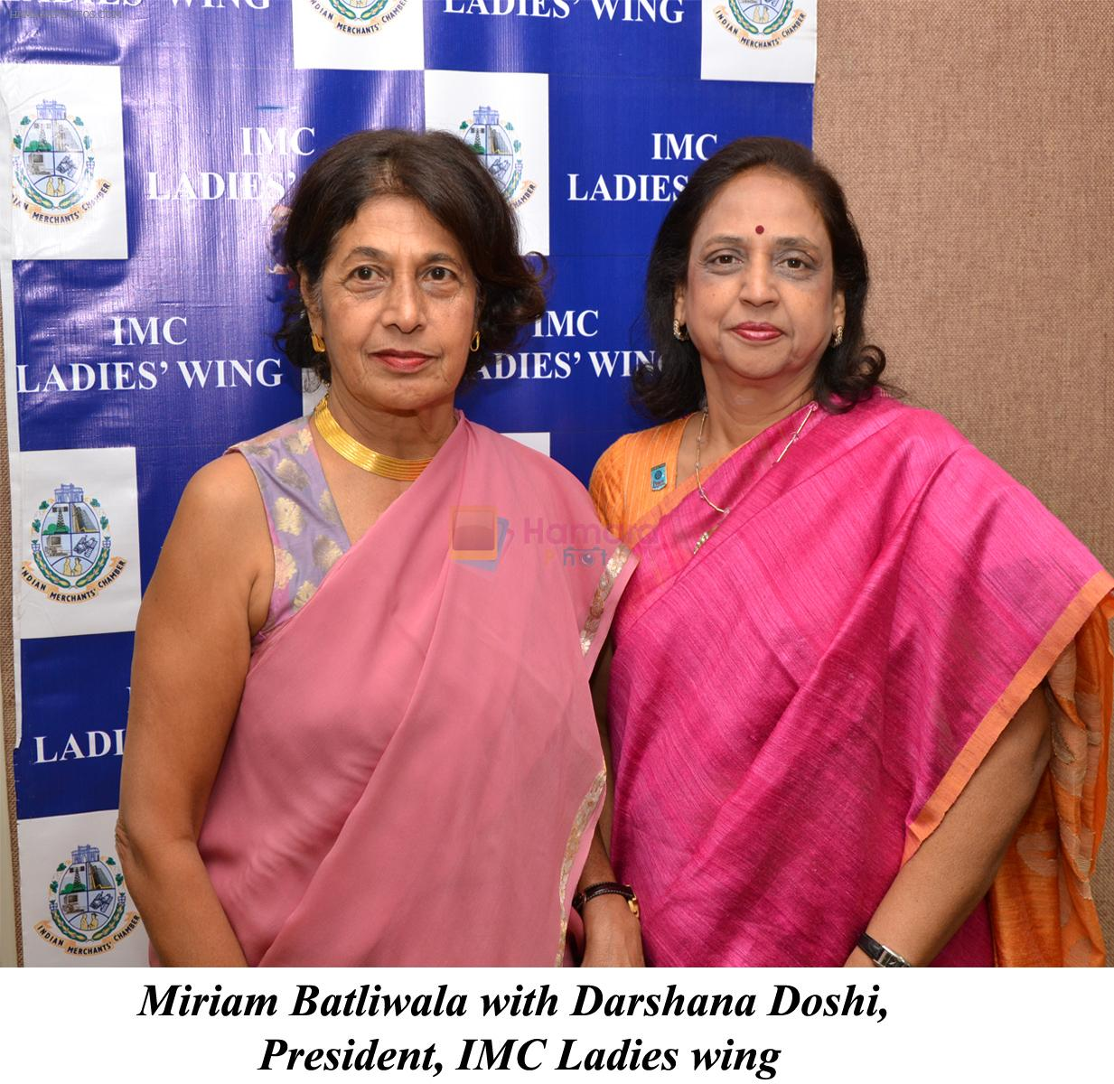 Miriam Batliwala and Darshana Doshi