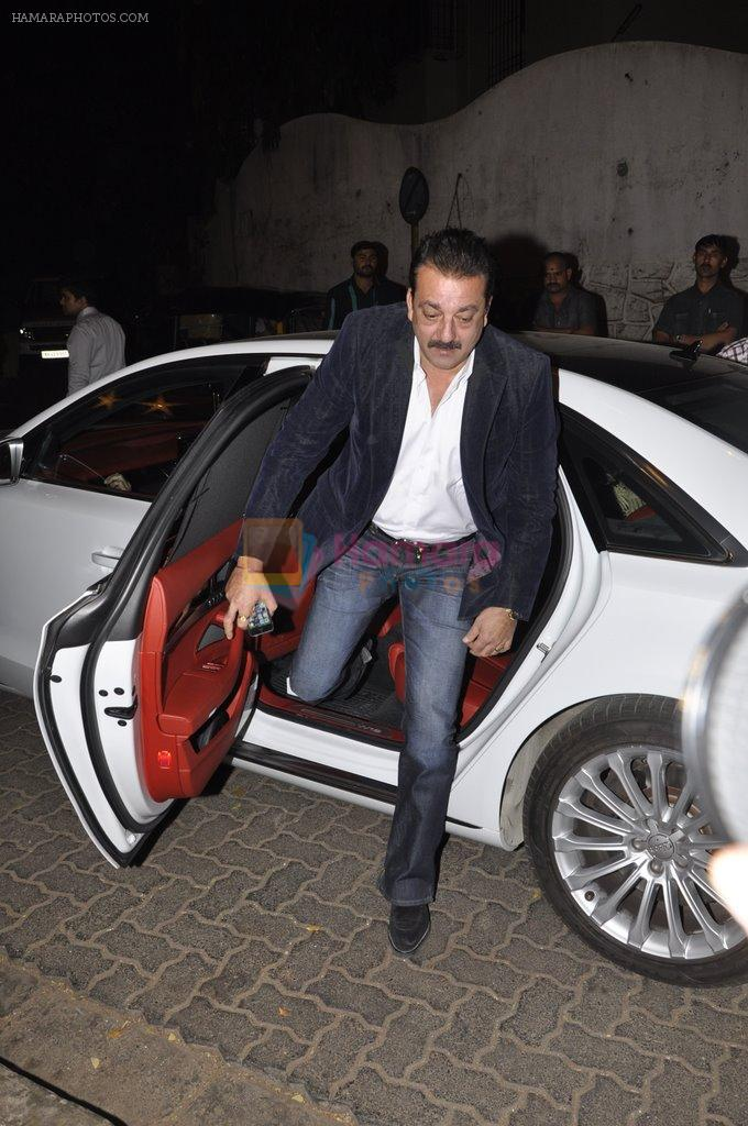 Sanjay Dutt at Bunty Walia's wedding reception bash in Olive on 28th Dec 2012