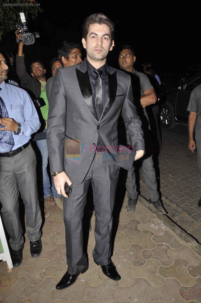 Neil Mukesh at Bunty Walia's wedding reception bash in Olive on 28th Dec 2012