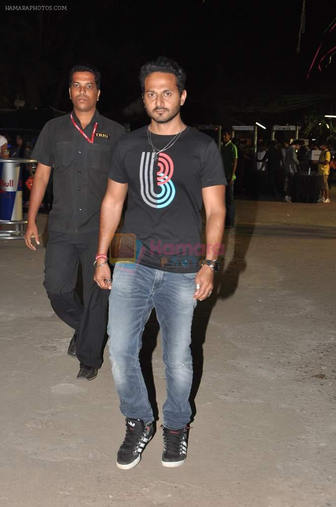 Nikhil Chinapa at MTV Bloc bash in Juhu, Hotel, Mumbai on 18th Jan 2013