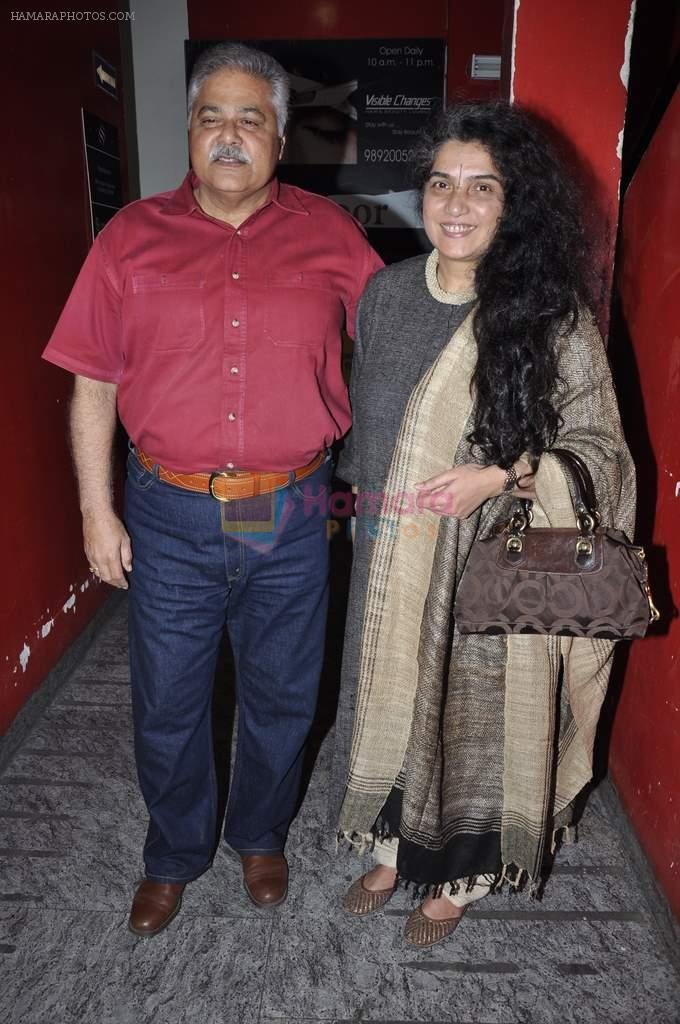 Satish Shah at Race 2 screening in PVR on 24th Jan 2013