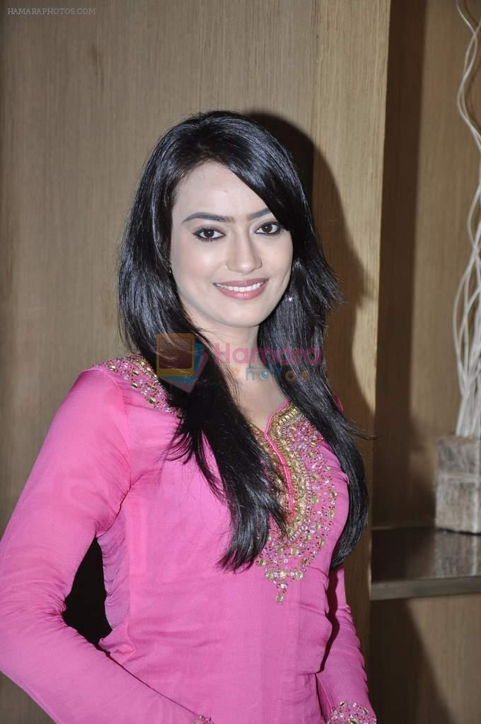 Surbhi Jyoti at the Press conference of ZEE TV's serial Qubool Hain in Westin Hotel, Mumbai on 14th Feb 2013