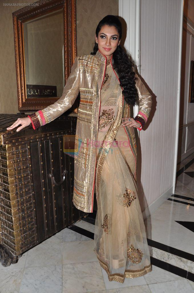 Yukta Mookhey walks for Sadiq memorial society event in Mumbai on 24th Feb 2013
