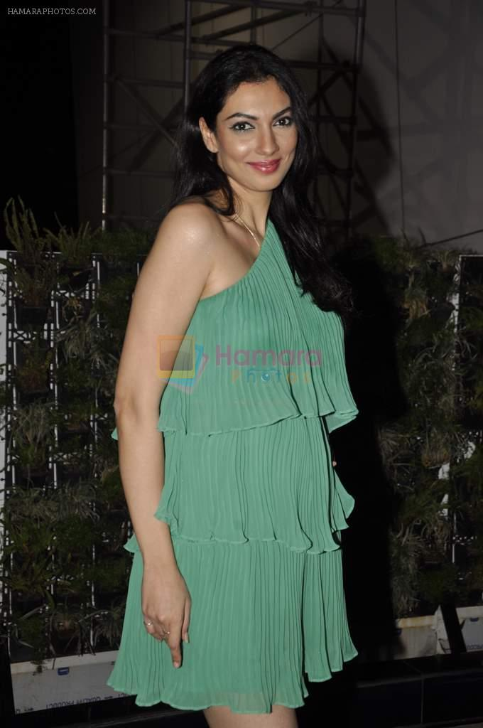 Yukta Mookhey at Savvy magazine party in F Bar, Mumbai on 27th Feb 2013