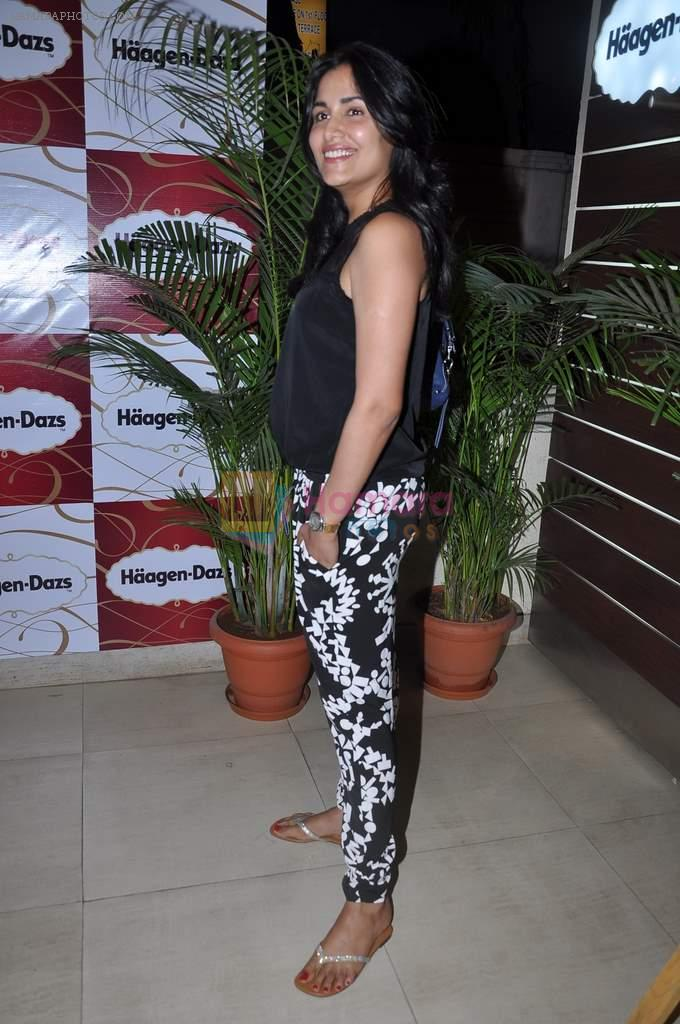 Tapur Chatterjee at Haagen Dazs lounge in Bandra, Mumbai on 8th March 2013