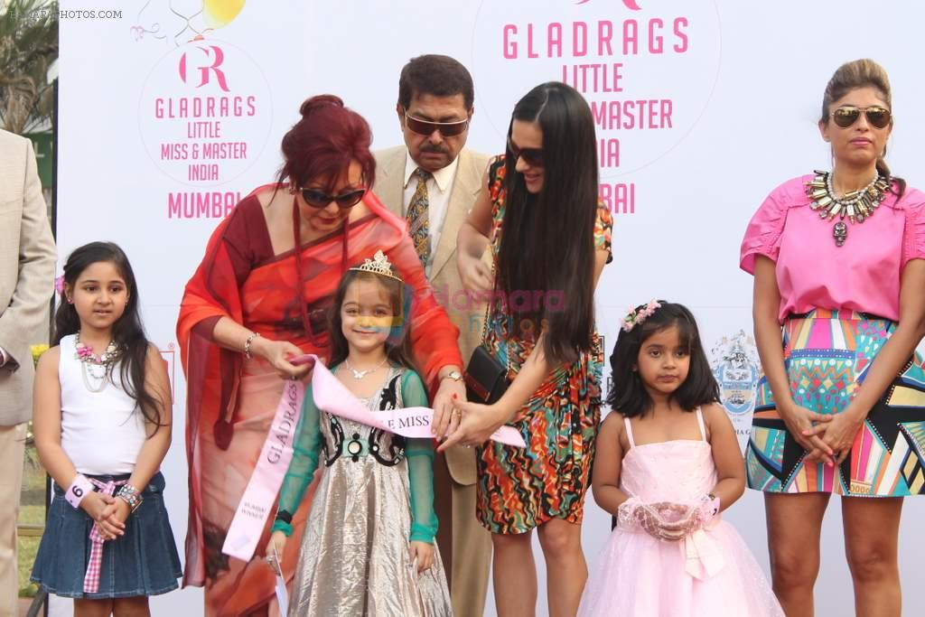 Maureen Wadia at Gladrags Little Masters C N Wadia gold Cup in Mumbai on 10th March 2013