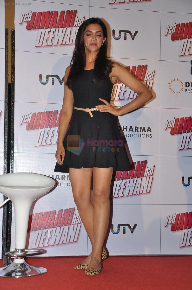 Deepika Padukone at the launch of yeh jawaani hai deewani in PVR, Juhu, Mumbai on 19th March 2013