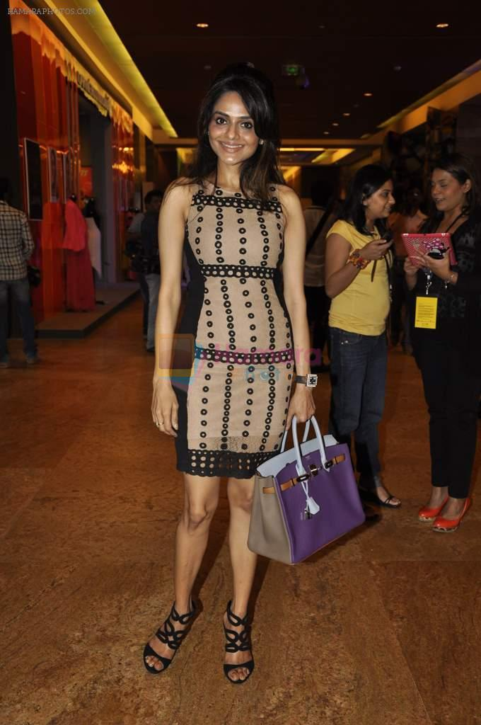 Madhoo Shah on Day 1 at Lakme Fashion Week 2013 in Grand Hyatt, Mumbai on 22nd March 2013