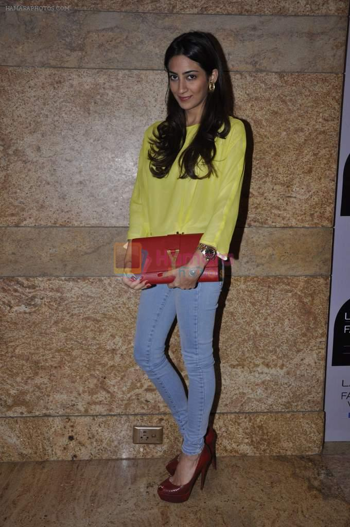on Day 1 at Lakme Fashion Week 2013 in Grand Hyatt, Mumbai on 22nd March 2013