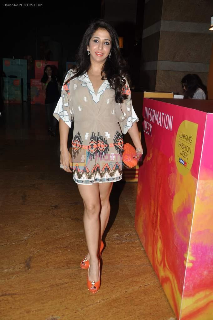 Krishika Lulla at Manish Malhotra Show at Lakme Fashion Week 2013 Day 1 in Grand Hyatt, Mumbai on 22nd March 2013