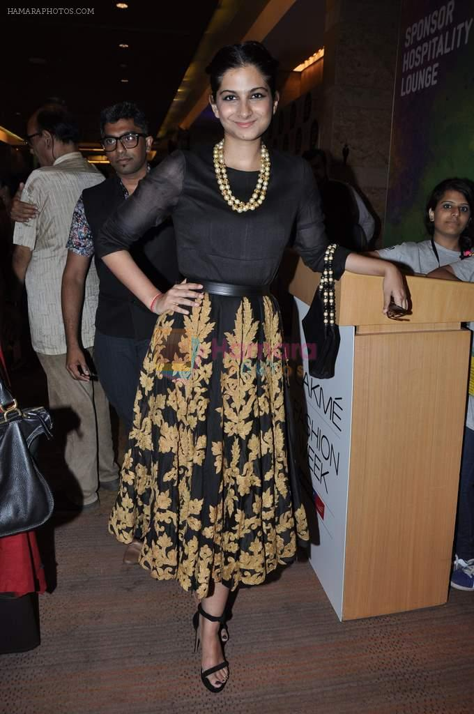 Rhea Kapoor on Day 1 at Lakme Fashion Week 2013 in Grand Hyatt, Mumbai on 22nd March 2013