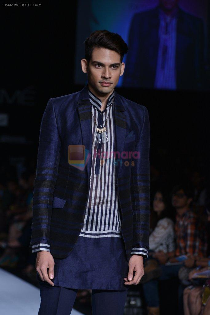 Model walk the ramp for Amalraj Sengupta Show at Lakme Fashion Week 2013 Day 1 in Grand Hyatt, Mumbai on 22nd March 2013