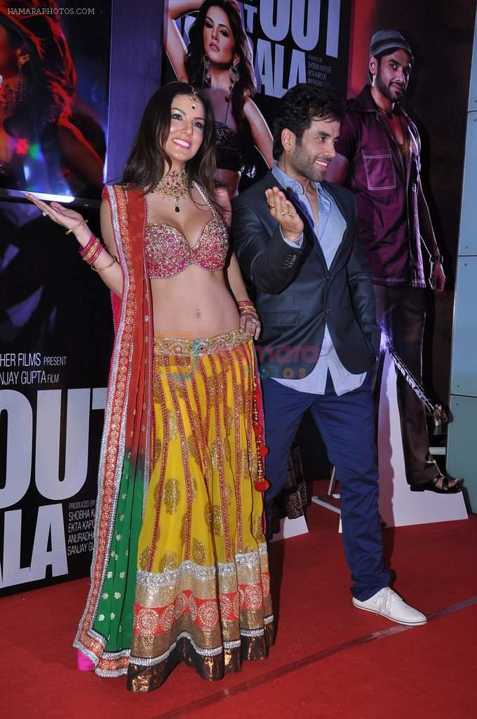 Sunny Leone and Tusshar Kapoor Promotes Shootout at Wadala in PVR, Mumbai on 22nd March 2013