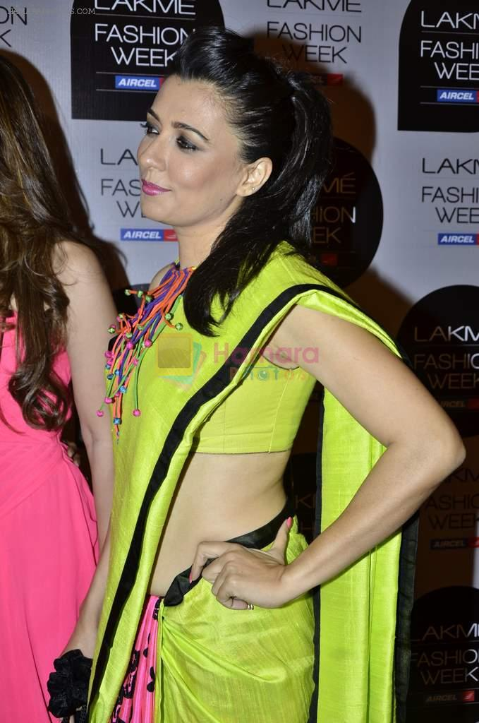 Mini Mathur on Day 1 at Lakme Fashion Week 2013 in Grand Hyatt, Mumbai on 22nd March 2013