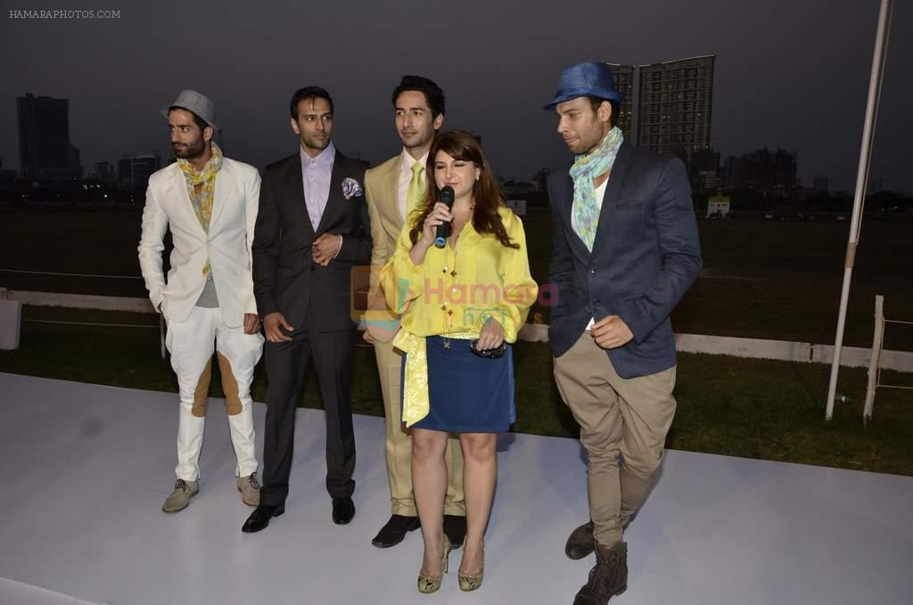Ram Charan Teja at Delna Poonawala fashion show for Amateur Riders Club Porsche polo cup in Mumbai on 23rd March 2013