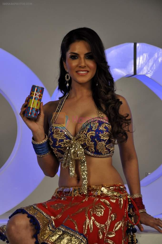 Sunny Leone at the shoot of Sachiin J Joshi's XXX Energy Drink by Viiking Ventures in Filmistan, Mumbai on 15th April 2013