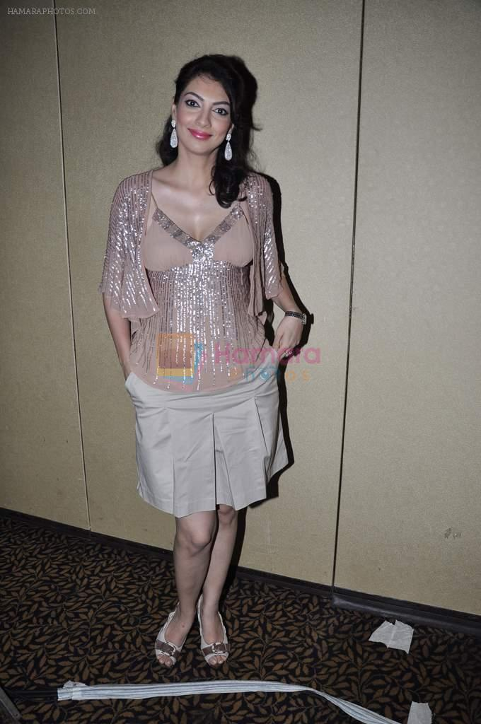 Yukta Mookhey at fashion show by Achala Sachdev for SNDT Chrysallis in Mumbai on 26th April 2013