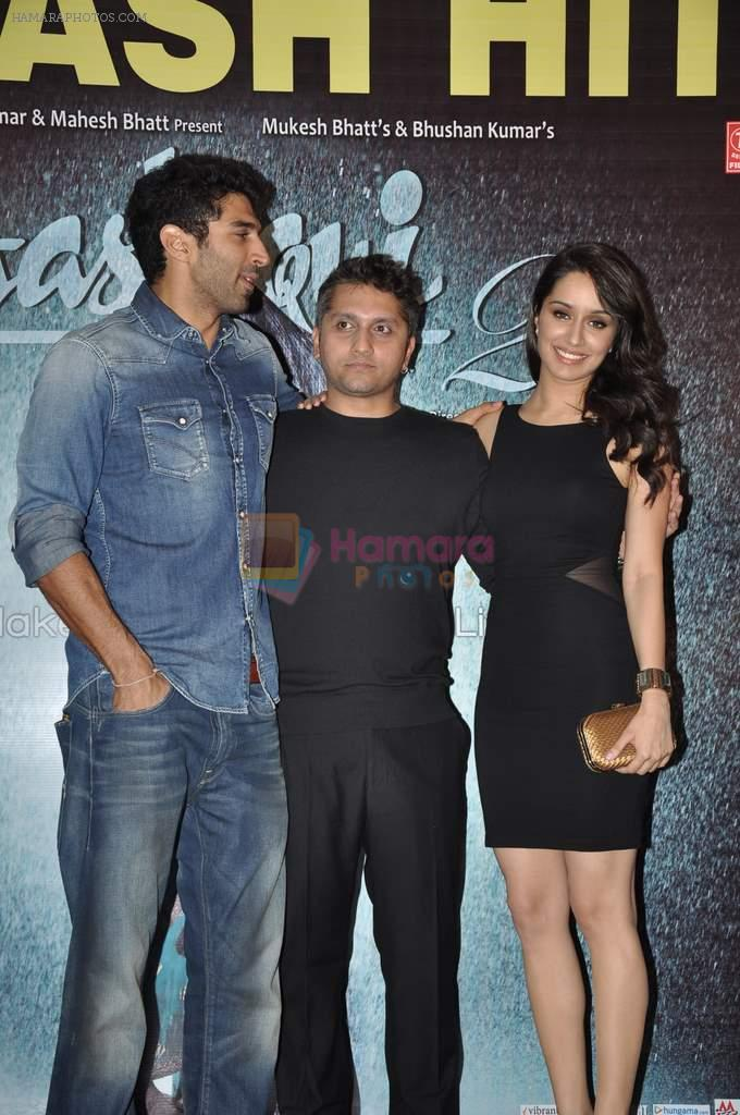 Aditya Roy Kapur, Shraddha Kapoor, Mohit Suri at Aashiqui 2 success bash in Escobar, Mumbai on 30th April 2013