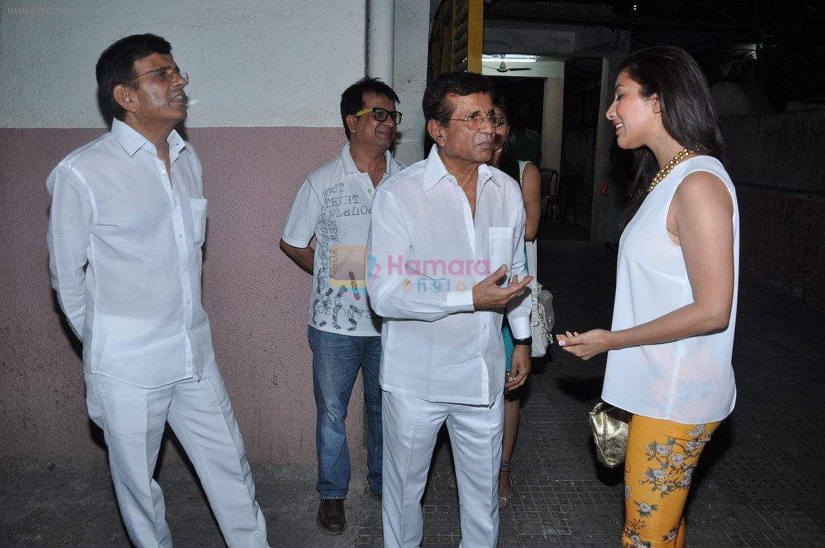 Sophie Chaudhary, Abbas Mastan at the Special screening of go goa gone by kunal khemu in Ketnav, Mumbai on 9th May 2013