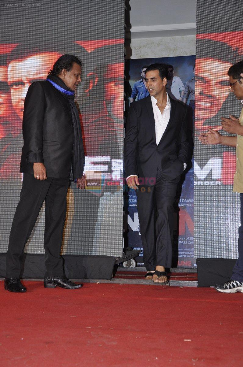 Akshay Kumar, Mithun Chakraborty at Enemmy launch in Mumbai on 24th May 2013