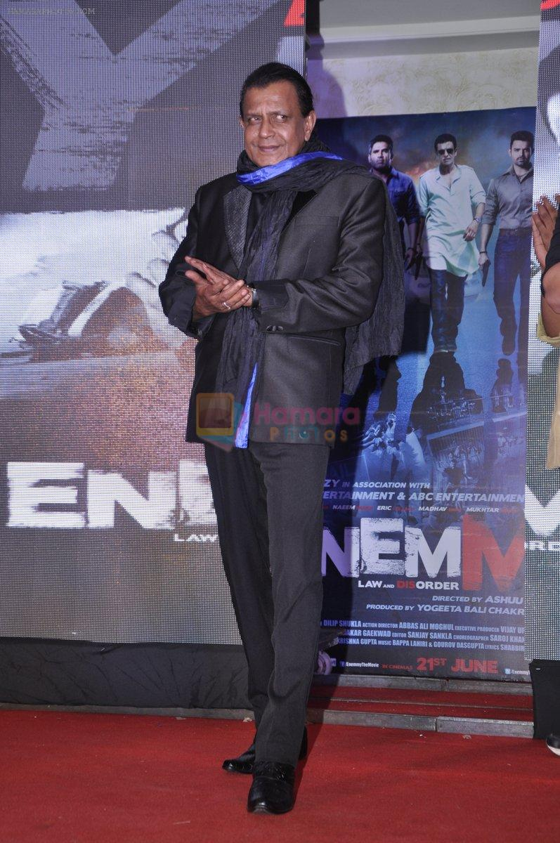 Mithun Chakraborty at Enemmy launch in Mumbai on 24th May 2013