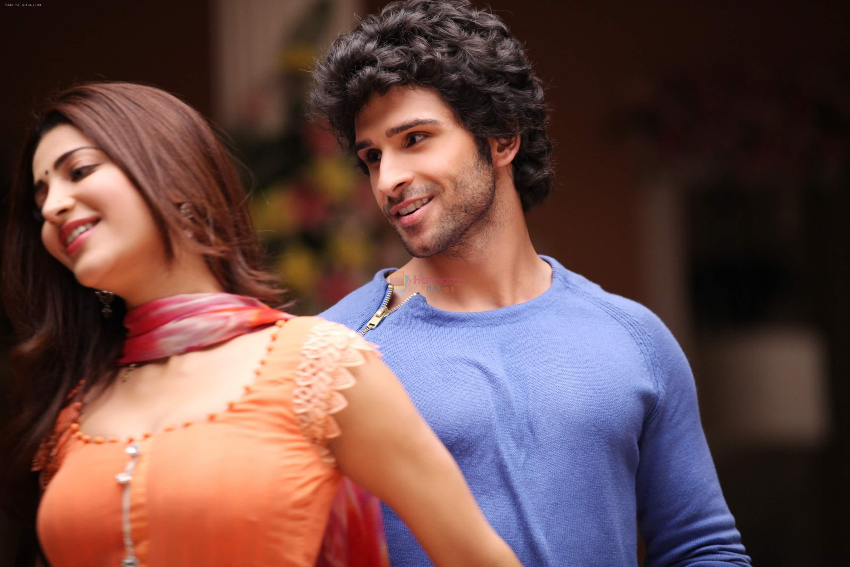 girish kumar, shruti haasan in the still from movie ramaiya