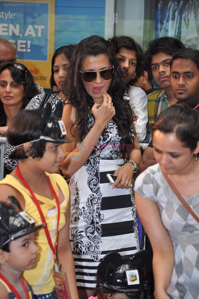 Mini Mathur at Disney kids event in Oberoi Mall, Mumbai on 6th June 2013