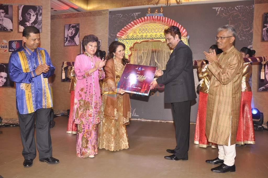 Kumar Sanu at Tourism Malaysia presents Album Launch of Tum Mile with princess of Malaysia Jane in Taj, Mumbai on 6th July 2013
